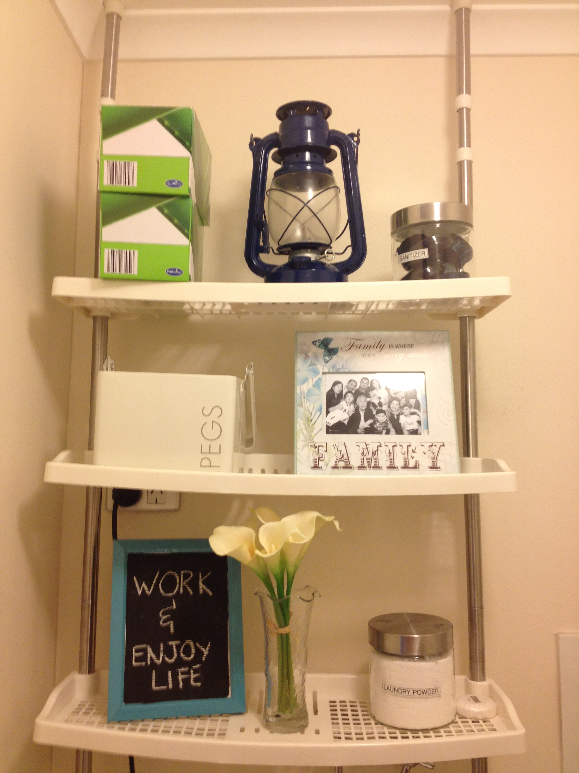 Decorate and Organize your laundry room | littleprince68
