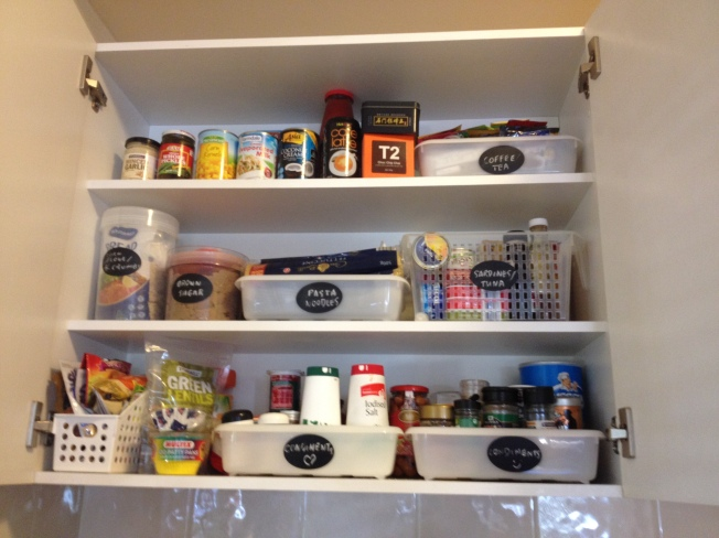 My pantry organmised